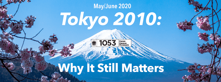 Articles's Collection: Why Tokyo 2010 Still Matters